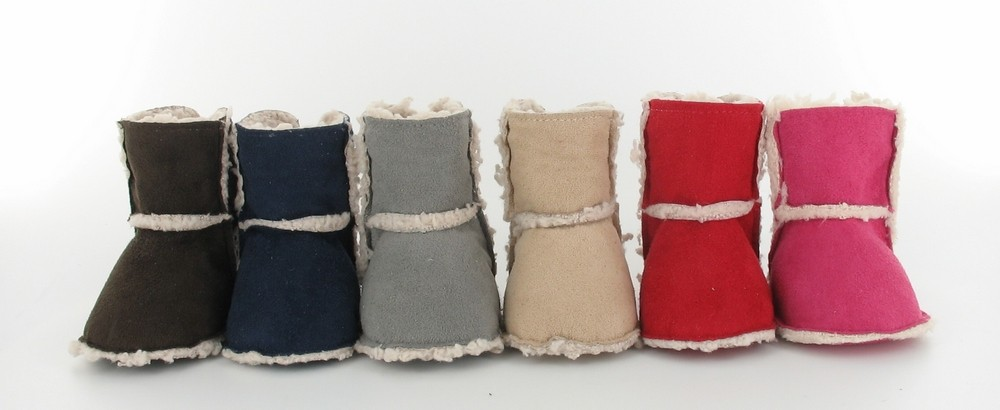 collection hiver chausson bebe botte fourre